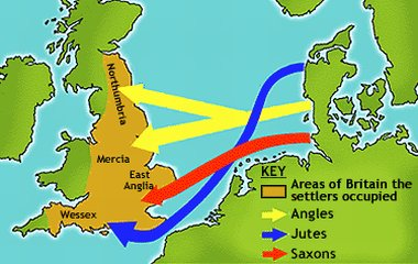 Anglo-Saxon invaders of Britain